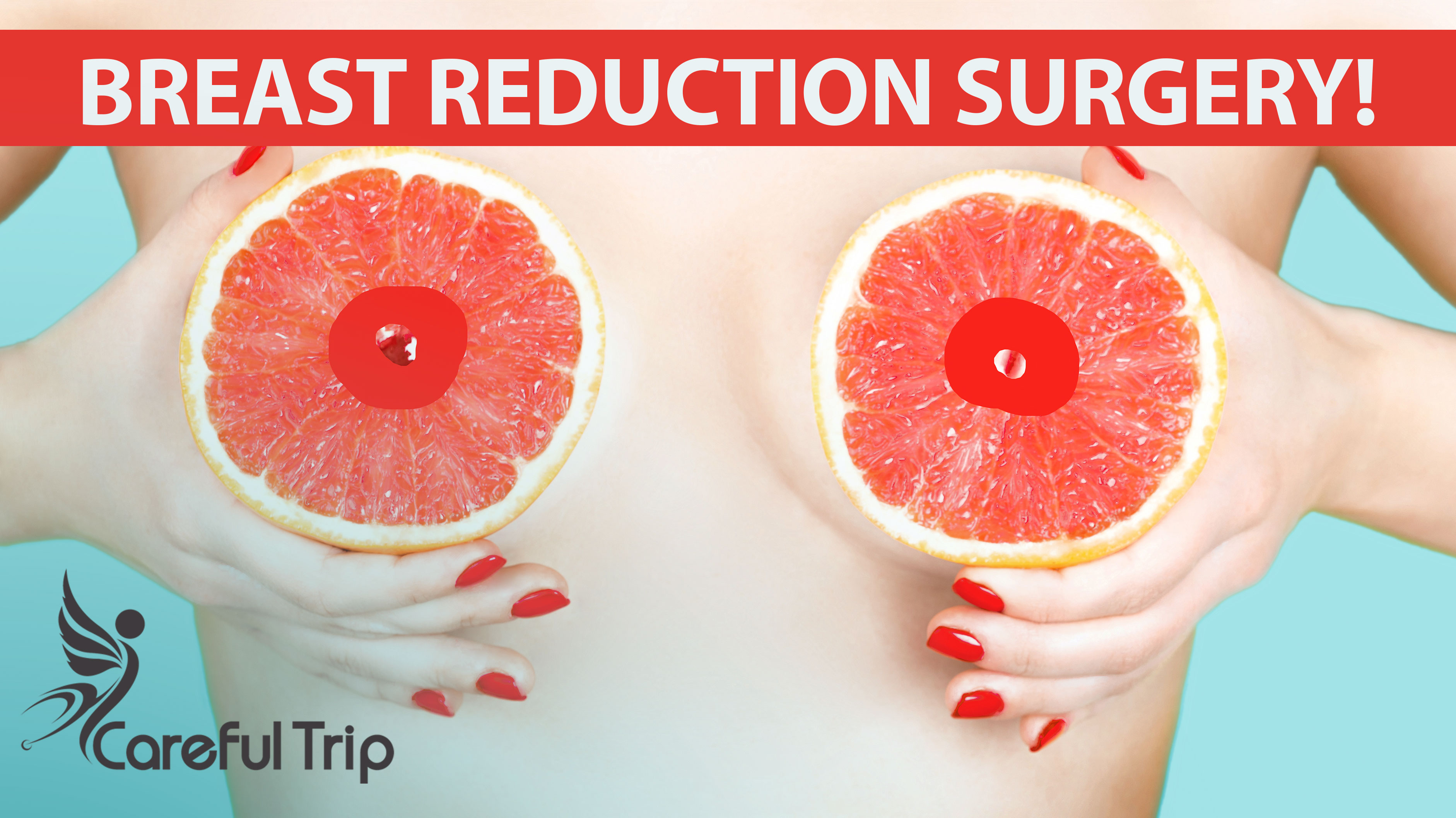 Postoperative care of breast reduction surgery!
